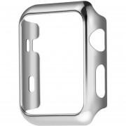 Louiwill [ACTUALIZAR] Kobwa Apple Reloj Caso 38 Mm, Resistencia A La Caída De La Cubierta Dura Desgaste Resistente A Los Rasguños A Prueba De Todas Las Versiones 38 Mm Apple Watch Series 2- Plata