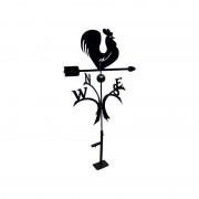Svens Girouette Coq à roulements à billes + support Universel