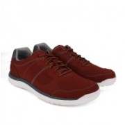 Clarks Votta Edge Red Synthetic Outdoors,sneakers For Men(Red)