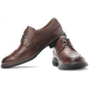 Clarks Un Limit Genuine Leather Lace Up Shoes For Men(Tan)