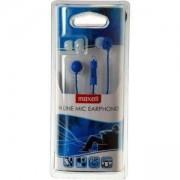 Слушалки с микрофон тапи EC-MIC Цвят Син MAXELL, ML-AH-ECMIC-BLU