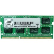 Memorie Laptop G.Skill F3 DDR3, 1x4GB, 1600MHz, CL11, 1.35v