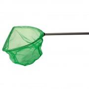 Minciog triunghiular 30 x 30 x 30 cm, maner telescopic 120 cm - Game On Fishing
