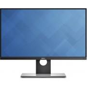 """Monitor IPS LED Dell 25"""" UltraSharp UP2516D, WQHD (2560 x 1440), DisplayPort, Mini DisplayPort, HDMI, 6ms GTG, Pivot (Argintiu)"""