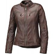 Held Sabira Kvinnors motorcykel läder jacka 34 Brun