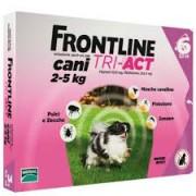 Merial Italia Frontline Tri act soluzione antiparassitario spot on per cani da 2 a 5kg (6 pipette)