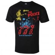 Herren T-Shirt Metal Police - POLICE IN CONCERT - LIQUID BLUE - 31816