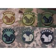 MSM Patch Secret Squirrel (Färg: SWAT)