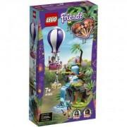 Конструктор Лего Френдс - Спасение в джунглата с тигър и балон, LEGO Friends, 41423