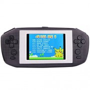 "Portable Handheld Game Console Gaming Player Birthday Gift for Kids Built in 416 Classic Retro Games with 3.5"" LCD Big screen (Black)"