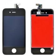Compatibile Apple A - 821-0999, 821-0695 - Vetro LCD per iPhone 4s - Nero (Grado A)