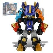 "Dino Core Season 3 Mini Ultra D-Saver Dinosaur Robot Kids Toys 8"""