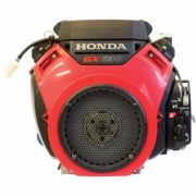 Honda Engines V-Twin Horizontal OHV Engine with Electric Start (688cc, GX Series, 1 Inch x 2 29/32 Inch Shaft, Model: GX630RHQAF1)