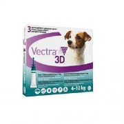Vectra 3D Small Dog 4-10kg, 3Pk