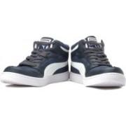 Puma Rebound Mid Lite DP Sneakers For Men(Navy)