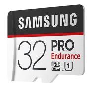Samsung PRO Endurance microSDHC 32GB + SD adapter