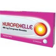 Reckitt Benckiser H.(It.) Spa Nurofenelle 400 Mg Compresse Rivestite 12 Compresse In Blister Pvc/Al