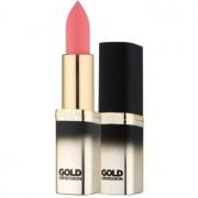 L'Oréal Paris Color Riche Gold Obsession barra de labios con oro de 24 quilates tono Pink Gold 7 ml
