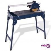 vidaXL Stroj za rezanje pločica 800 W 200 mm