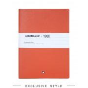 ユニセックス MONTBLANC X YOOX Notebook #146, Yoox Exclusive ノート オレンジ