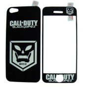 Folie protectie cu design iPhone 5 - Call of Duty Black Ops 2 ( fata + spate )