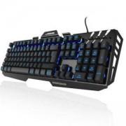 Геймърска метална клавиатура Hama, Urage Cyberboard, USB, RGB, HAMA-113755