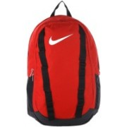 Nike Brasilia 7 Unisex 25 L Medium Backpack(Red, Black)