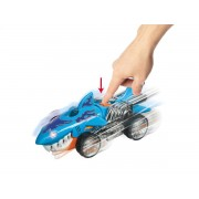 Masinuta cu lumini si sunete MONDO Hot Wheels Monster Action Sharkruiser Blue