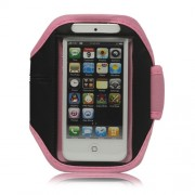 Sportband iPhone 5. 5C en 5S roze