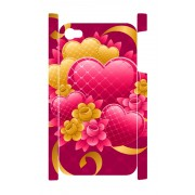 iPhone 4 en 4S Case hartjes