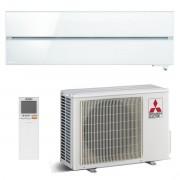 Mitsubishi Electric klima uređaj MSZ-LN25VGW/MUZ-LN25VG - 2,5 kW, Kirigamine style, za prostor do 25m2, A+++ energetska klasa