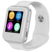 Ceas Smartwatch cu Telefon iUni V88,1.22 inch, BT, 64MB RAM, 128MB ROM, Alb