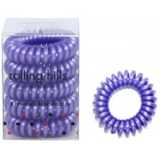 Rolling Hills Professional Hair Rings Dark Purple Haargummi