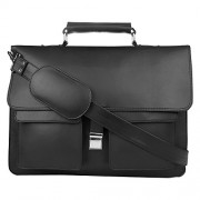 P & Y Fashion Fashion Black Messenger Bag.