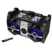 Sistem Audio Akai DJ-530, Bluetooth, microfon wireless, DJ effects (Negru)