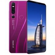 COODIO P46 Pro 6.1 Pulgadas 8 + 128 Teléfono Android Pantalla Grande Teléfono Inteligente Reconocimiento Facial Desbloqueo con Huella Digital Purple U.S. regulations