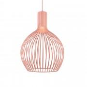 [lux.pro]® Декоративен пендел Verona 49 x 36,5 cm, Розов, Метал