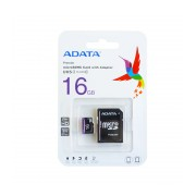 Card de memorie microSDHC UHS-I Clasa 10 16GB ADATA Premier cu adaptor SD