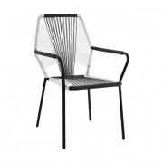 Ратанов стол Мебели Богдан модел White and grey