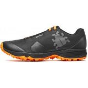 Icebug M's Pytho4 BUGrip Shoes Black/DkOrange 2017 Dubbade skor