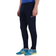 Adidas Navy Polyester Lycra Track pants