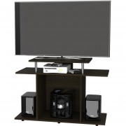 "Rack TV TuHome 40"" Invi -Wengue"