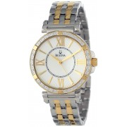 Ceas dama Bulova 98R167 Quartz Diamonds Collection