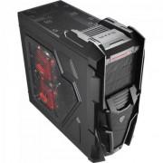 Gabinete Gamer MID Tower Mechatron Window BLACK Steel Edition EN57028 Preto Aerocool