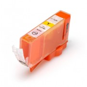 39 Canon CLI 526Y med chip (10,5 ml) gul kompatibel bläckpatron