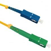 Cablu qoltec Optic Patchcord SC/APC - SC/UPC simplex SM 9/125 G652D 20m (54295)