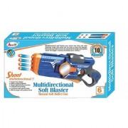 JGG Jain Gift Gallery Multidirectional Soft Blaster Gun/ Enhance The Skill of The Kids