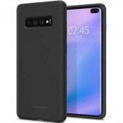SPIGEN Etui Silicone Fit do Samsung Galaxy S10 Plus Czarny