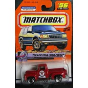 2000 Matchbox Texaco 1956 Ford Pickup Red #56 of 100