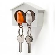 Qualy Sparrow Duo Sleutelhanger - Oranje - Qualy